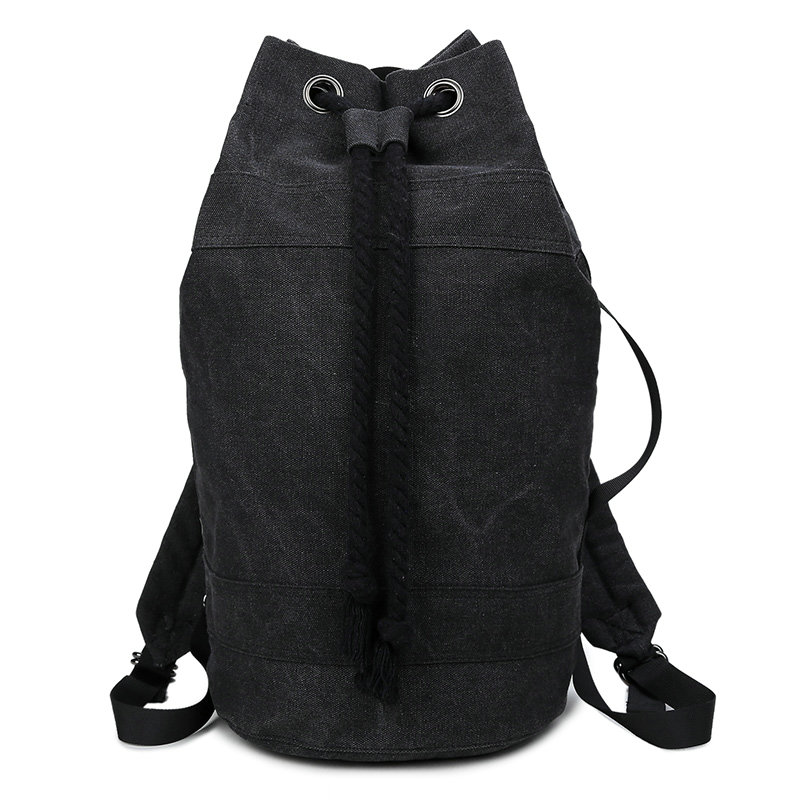 Custom canvas travel backpack