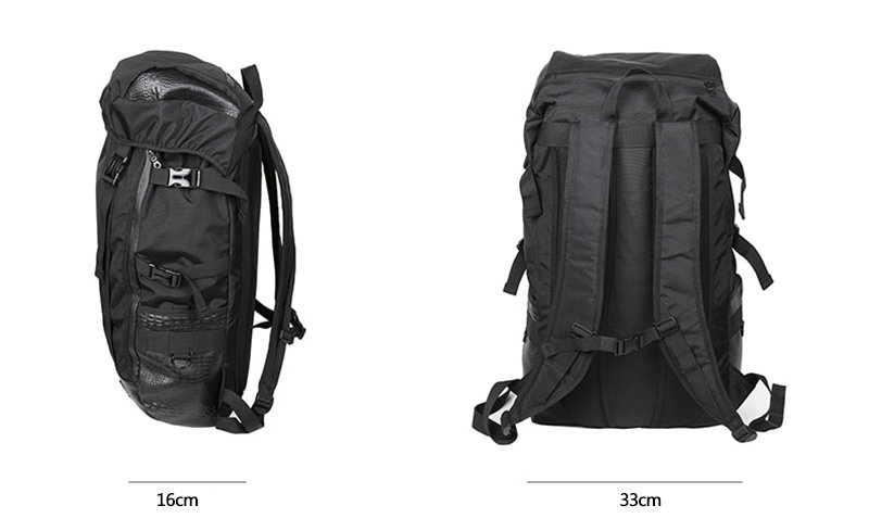 Durable large nylon multifunction backpacks