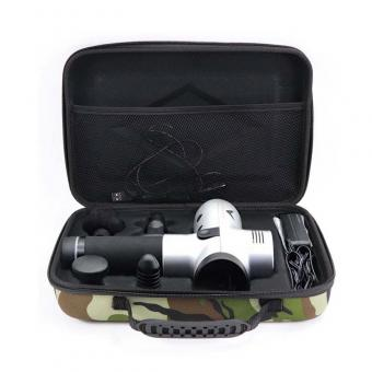 Camouflage EVA muscle massage gun case