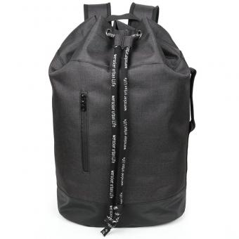 Customized drawstring closure backpacks