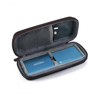 EVA travel case with net pocket